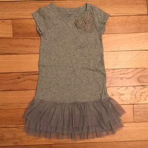 Baby Gap Cotton Dress with Tulle Skirt